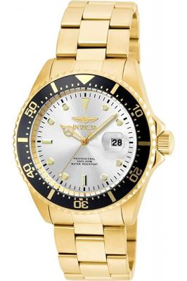 Invicta Pro Diver Analog Silver Dial Men's Watch-22064