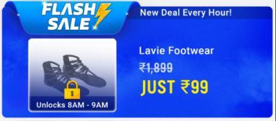 Lavie footwear at Ra.99