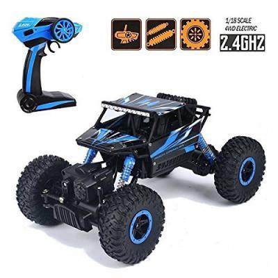 Buy higadget Dirt Drift Waterproof Remote Controlled Rock Crawler RC Monster Truck, 4 Wheel Drive