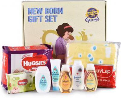 BBD Specials New Born Gift Set (Multicolor)