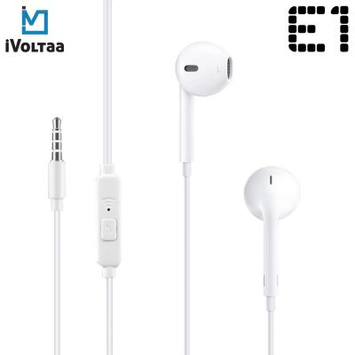 iVoltaa Earnetic E1 Wired Earphone with Mic and in-Line Remote