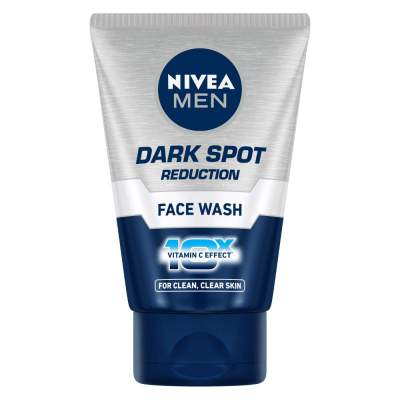 NIVEA MEN Face Wash, Dark Spot Reduction, 100ml