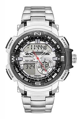 TIMEWEAR Analogue Digital Sports Stainless Steel Chain Watch for Men & Boys
