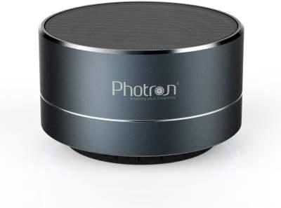 Photron P10 Wireless 3W Super Bass Mini Metal Aluminium Alloy Portable Bluetooth Speaker with Mic