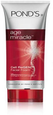 Ponds Age Miracle Cell ReGen Foam Face Wash