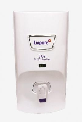 Livpure Vibe 7L RO + UF + Mineraliser Water Purifier