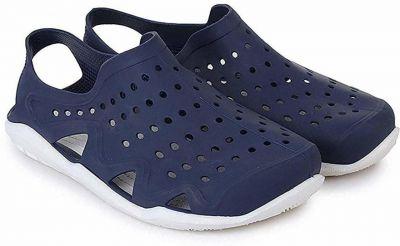 Dimara Men Blue Clogs Sandal