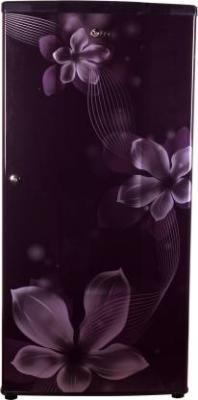 LG 185 L Direct Cool Single Door 2 Star Refrigerator  (Purple, GL-B181RPOV)