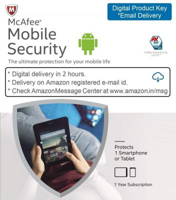 McAfee Mobile Security - 1 Device, 1 Year - Product Key