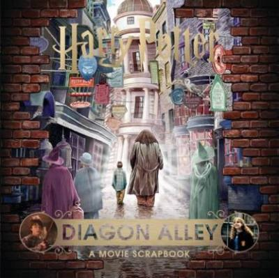 Harry Potter | Diagon Alley (English, Hardcover, Warner Bros)