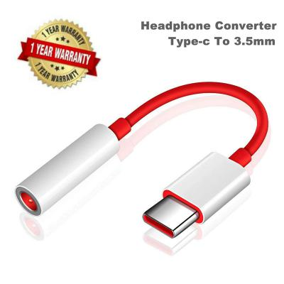 SpeedX Type C to 3.5 mm Jack Audio Connector, Noise Cancelling Headphones Jack Converter Audio Adapter (Pack of 2)