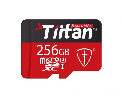 Tiitan Ultra 256 GB MicroSDXC/UHS Class-3/ Speed Up to 300 MB/s Memory Card