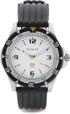 Sonata NH7930PP01CJ Analog Watch  - For Men