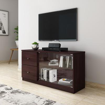Amazon Brand - Solimo Cygnus Engineered Wood TV Cabinet with Drawers (Espresso Finish)