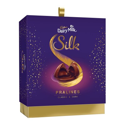 Cadbury Dairy Milk Silk Pralines Chocolate Gift Box, 160g