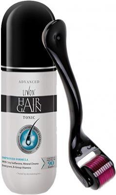 Livon Hair Gain Tonic For Men, 150 ml with Elmask Dermaroller (Titanium Needles)