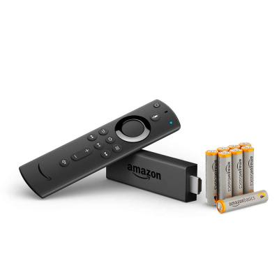 Fire TV Stick with 8 AAA batteries