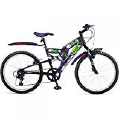 Hero Disney Hulk 24T 6 Speed Mountain Cycle (Grey)