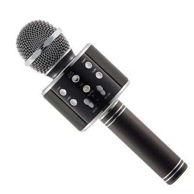 Axxitude Handheld Wireless Mike   Multi-function Bluetooth Karaoke Singing Mic with Microphone Speaker