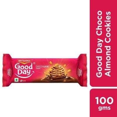 Britannia Good Day Choco Almond Cookies, 100 gm
