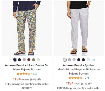 Pajamas & Track Pants: Minimum 70% off