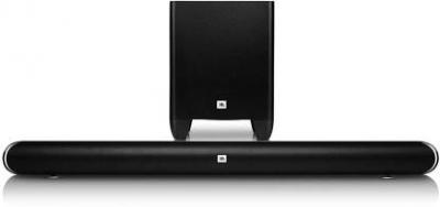 JBL SB350 Dolby Digital with (Wireless Subwoofer & Deep Bass Surround Sound) Bluetooth Soundbar (Black, 2.1 Channel)