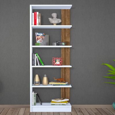 Bravo Home Pupis Bookcase (Walnut and White)
