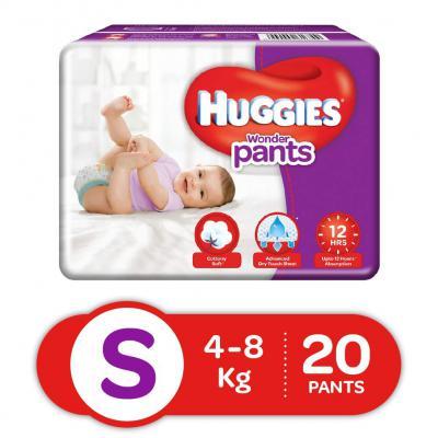 Huggies Wonder Pants Diapers, Small (Pack of 20)