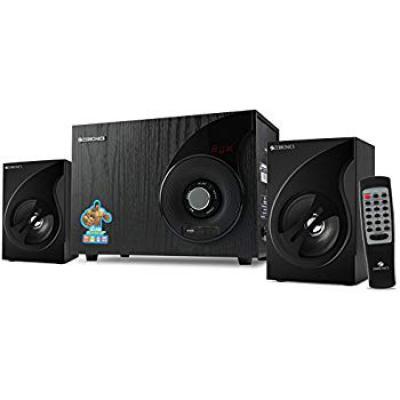 Zebronics SW2494RUCF 2.1 Channel Multi Media Speaker with LED Display