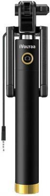 iVoltaa Next Gen Compact Wired Selfie Stick for iPhone
