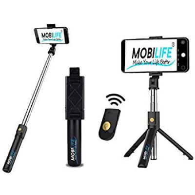 Hoteon Mobilife Bluetooth Extendable Selfie Stick