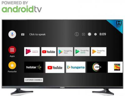 MarQ by Flipkart 108 cm (43) Full HD LED Smart Android TV with Ultra Thin Bezel