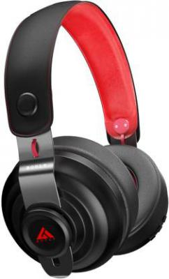 Boult Audio BA-BOOST-FK Bluetooth Headset with Mic  (Black, Red, Over the Ear)