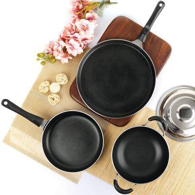 Cello Prima Solitare Series Non Stick 3 Pc Cookware Set