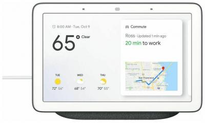 Google Home Hub with Google Assistant - Control All Smart Devices & More