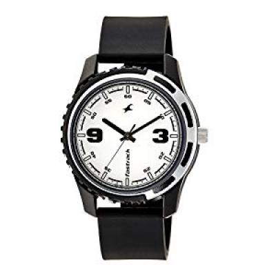 Fastrack Casual Analog White Dial Mens Watch