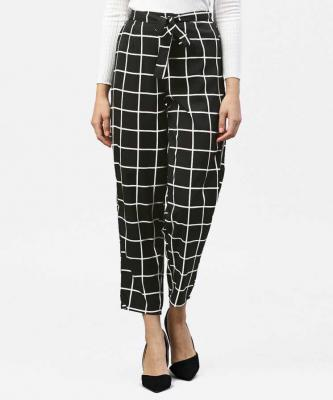 Aasi - House of Nayo Regular Fit Women Black Trousers