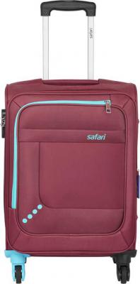 [Pre-Book] Safari STAR 55 4W RED Expandable Cabin Luggage - 22 inch