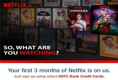 Netflix: 4 months Subscription at 1 month Cost