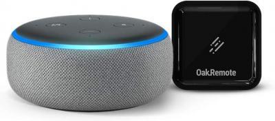 Echo Dot bundle with OakRemote for A/C & TV control
