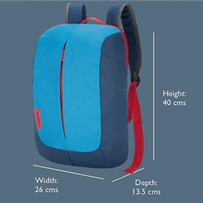 Footloose by Skybags 10 Ltrs Blue Daypack