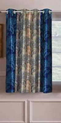Panipat Textile Hub 152 cm (5 ft) Polyester Window Curtain Single Curtain