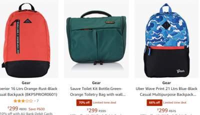 Gear Bags Upto 80%