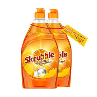 Skrubble High Action Dish Wash Liquid-500 ml (Pack of 2)