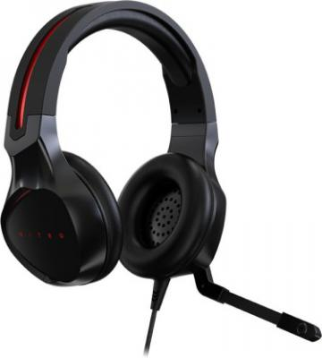 Acer NP.HDS1A.008 Wired Headset with Mic (Black, Over the Ear)