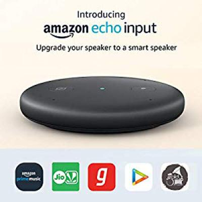 Echo Input - Upgrade your speaker to a smart speaker