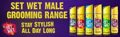 Set Wet Cool Avatar Deodorant Spray Perfume, 150 ml