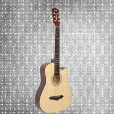 Breve Acoustic Guitar 38 Inch Cutaway,with Bag (Natural)