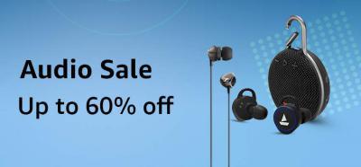 Amazon Audio Sale: up to 60% off