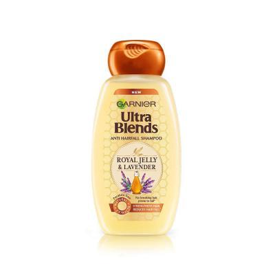 Garnier Ultra Blends Shampoo, Royal Jelly and Lavender, 175ml
